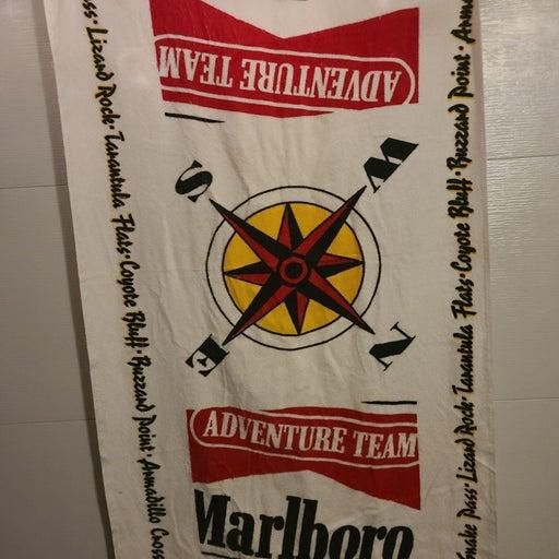 Vintage Marlboro Red Towel