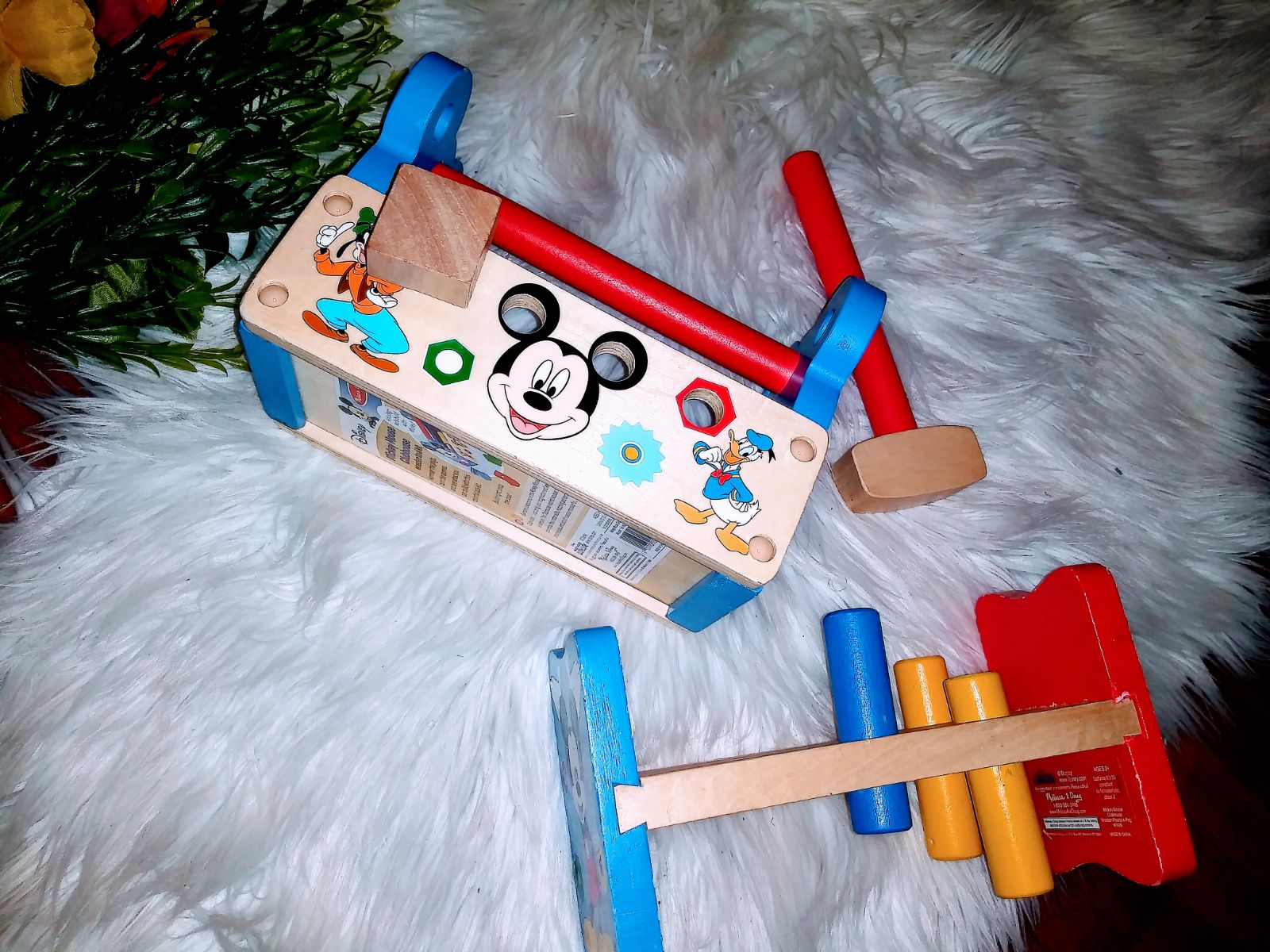 Mickey Mouse Wooden  Tools Set