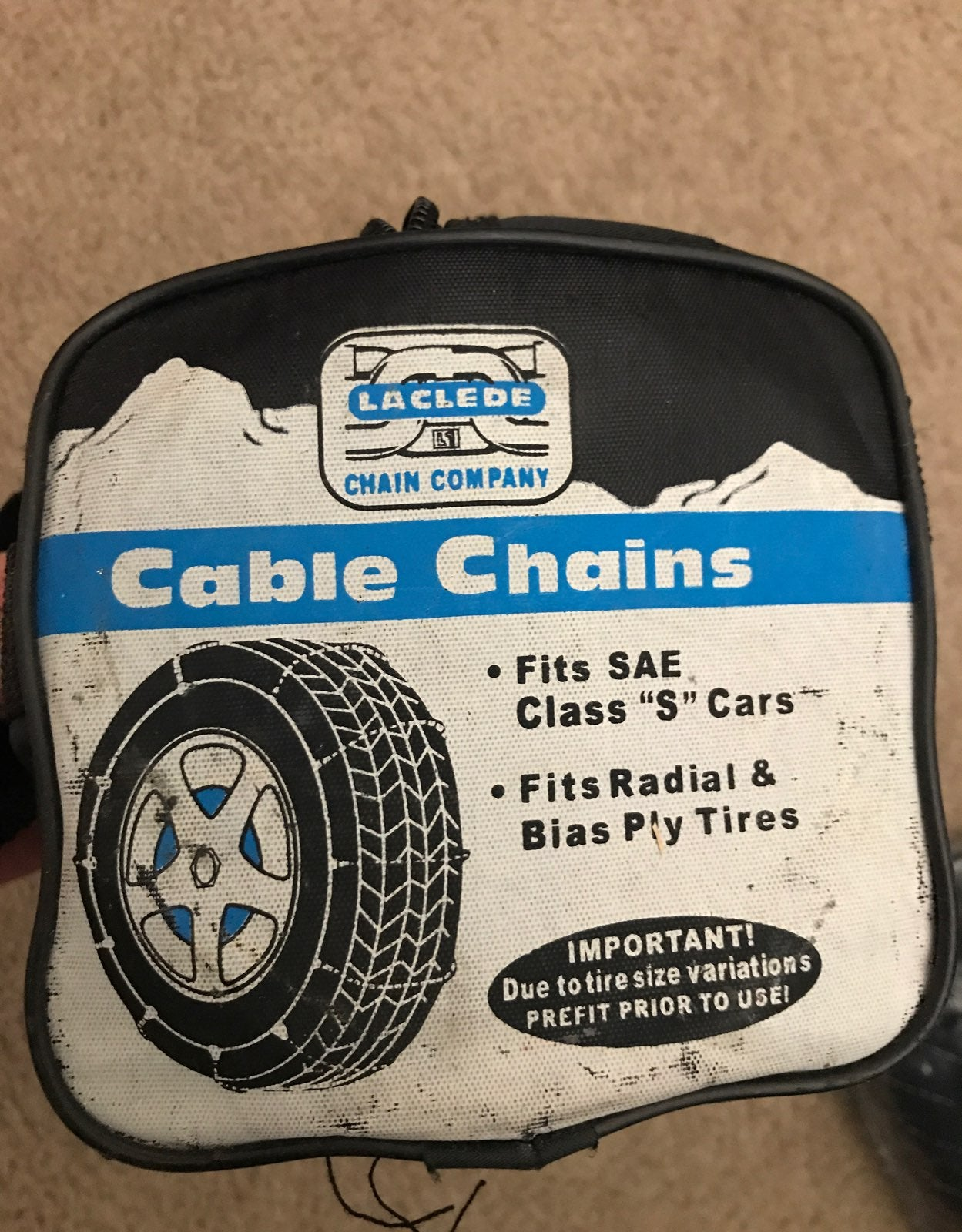 Laclede passenger cable chains