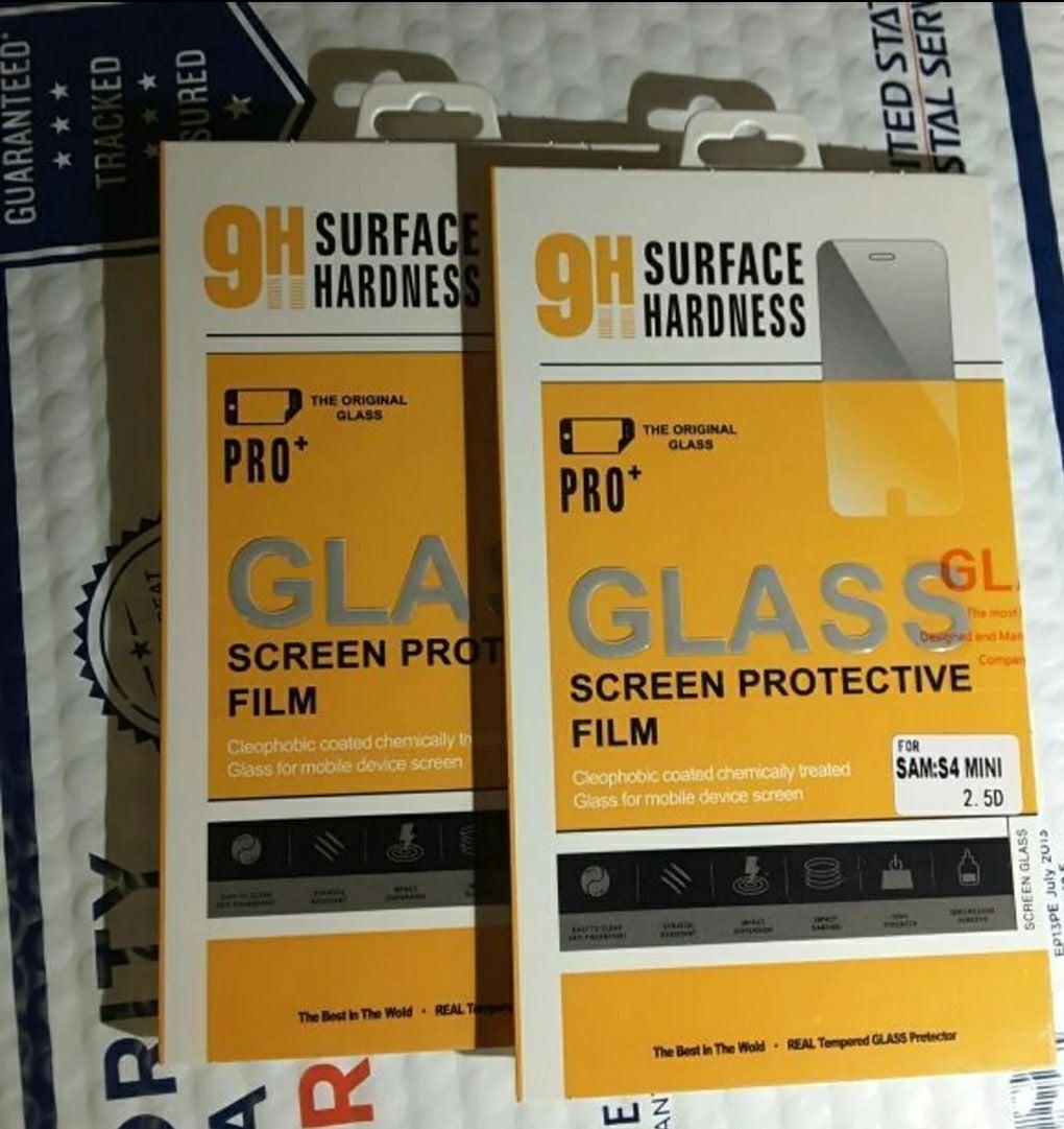 2x samsung s4 mini screen protector