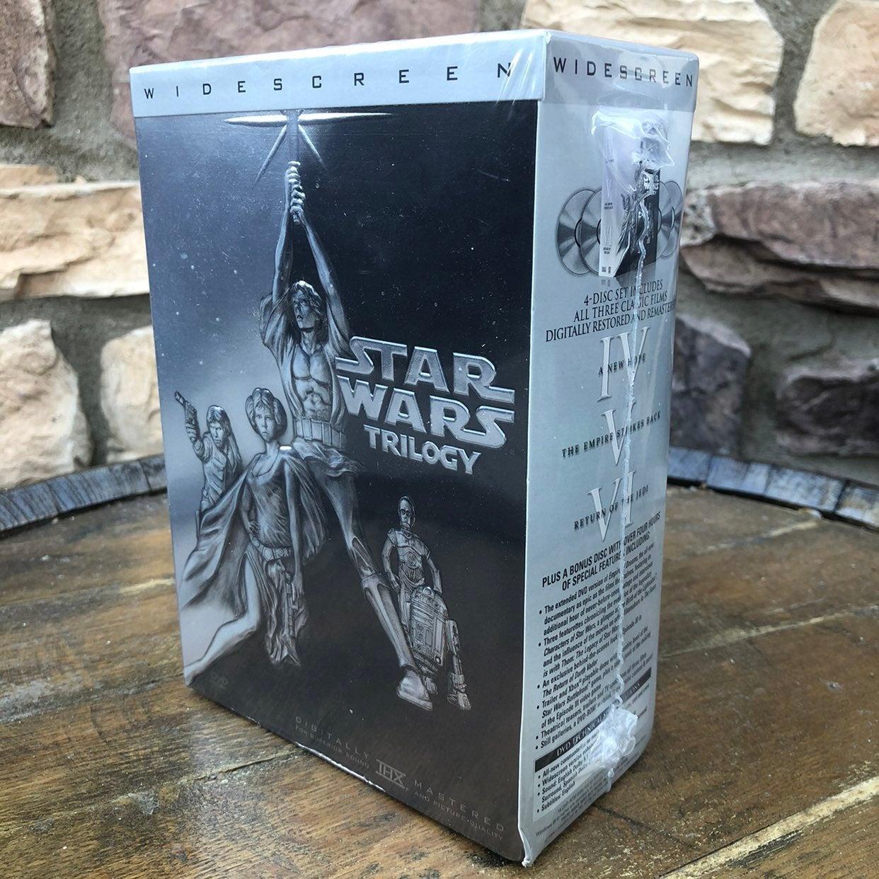 Star Wars Trilogy Widescreen IV V VI DVD