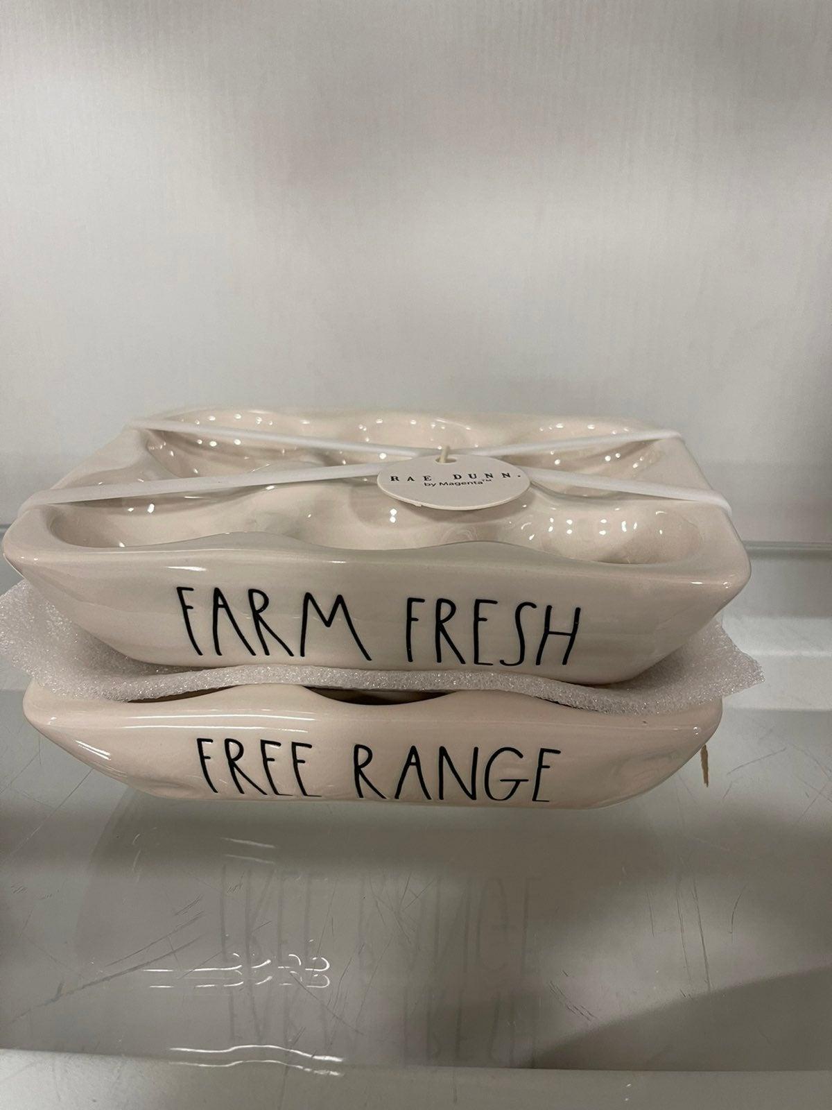 Rae Dunn Farm Fresh Egg Holder