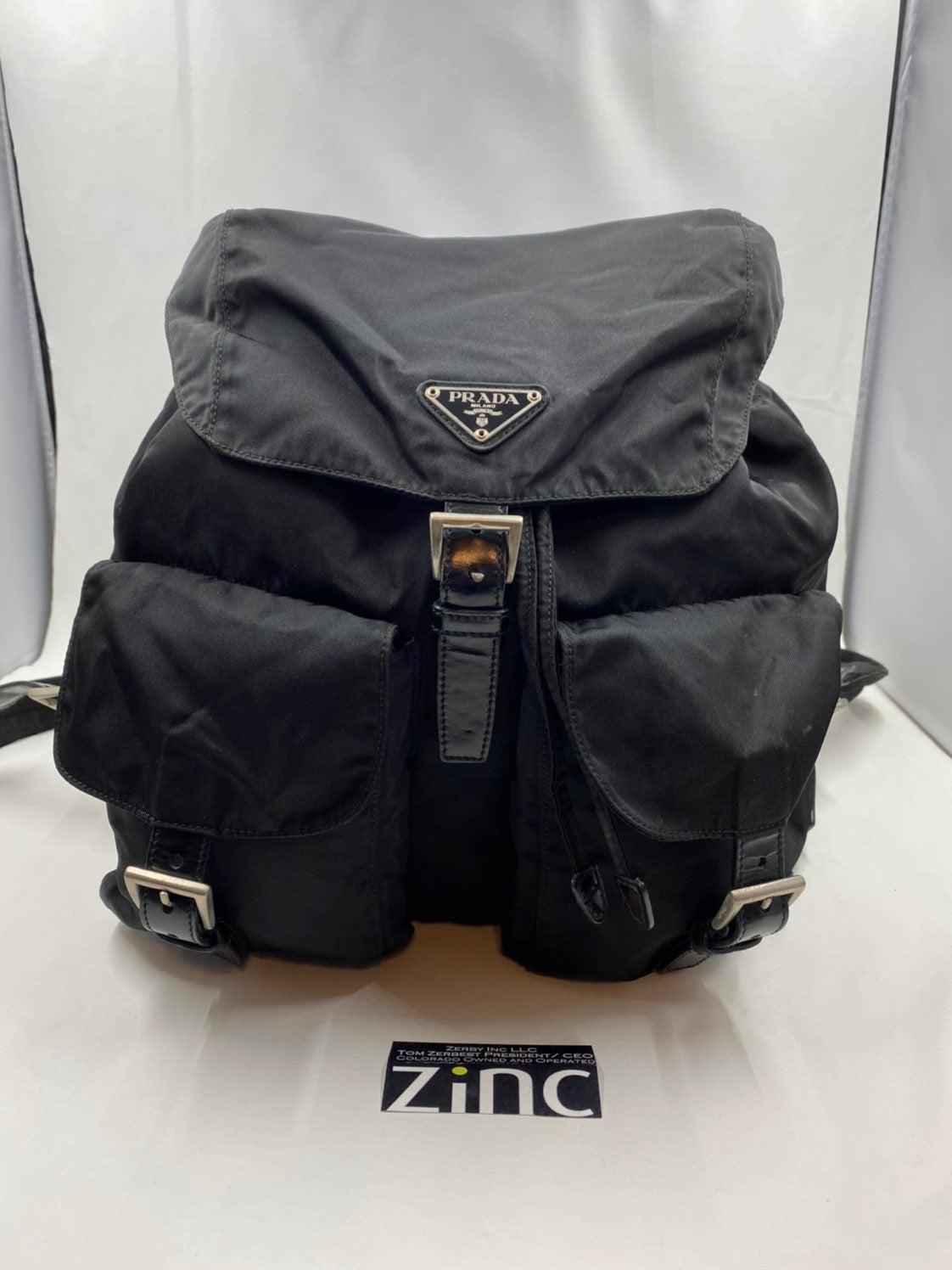 Prada Vintage Tessuto Nylon Backpack