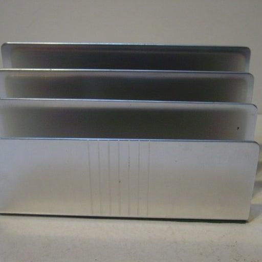 Vint. Kensington Aluminum Letter Holder