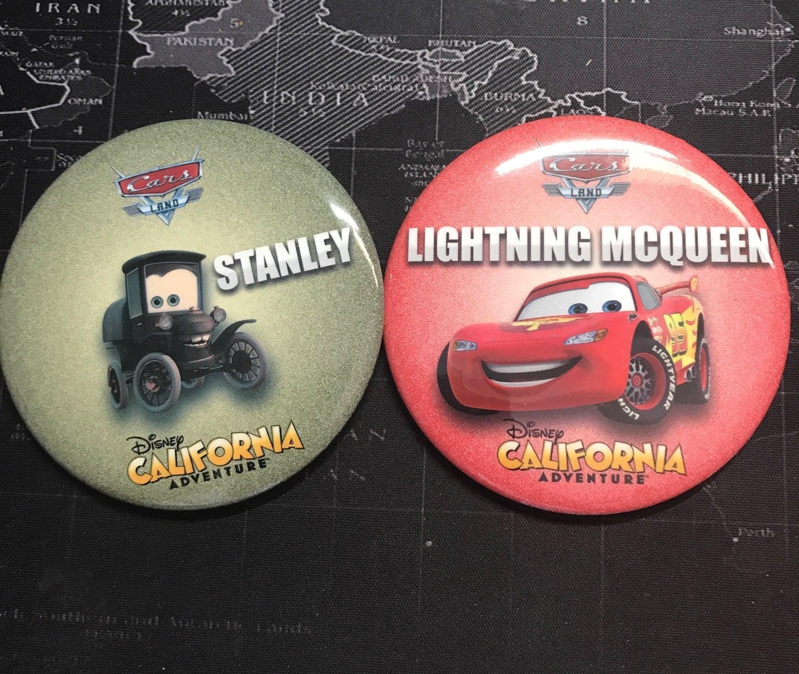 Disney california adventure badges