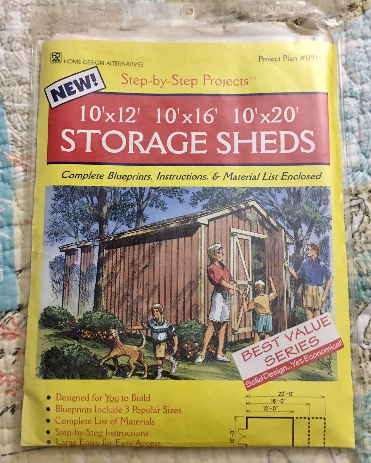 Storage Plans by Home Design Alternative