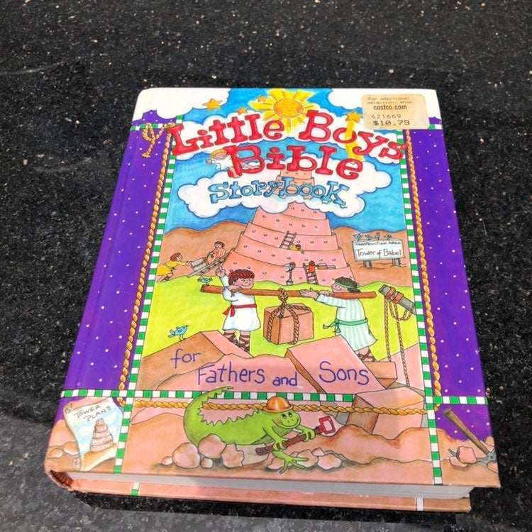 little boys bible story book