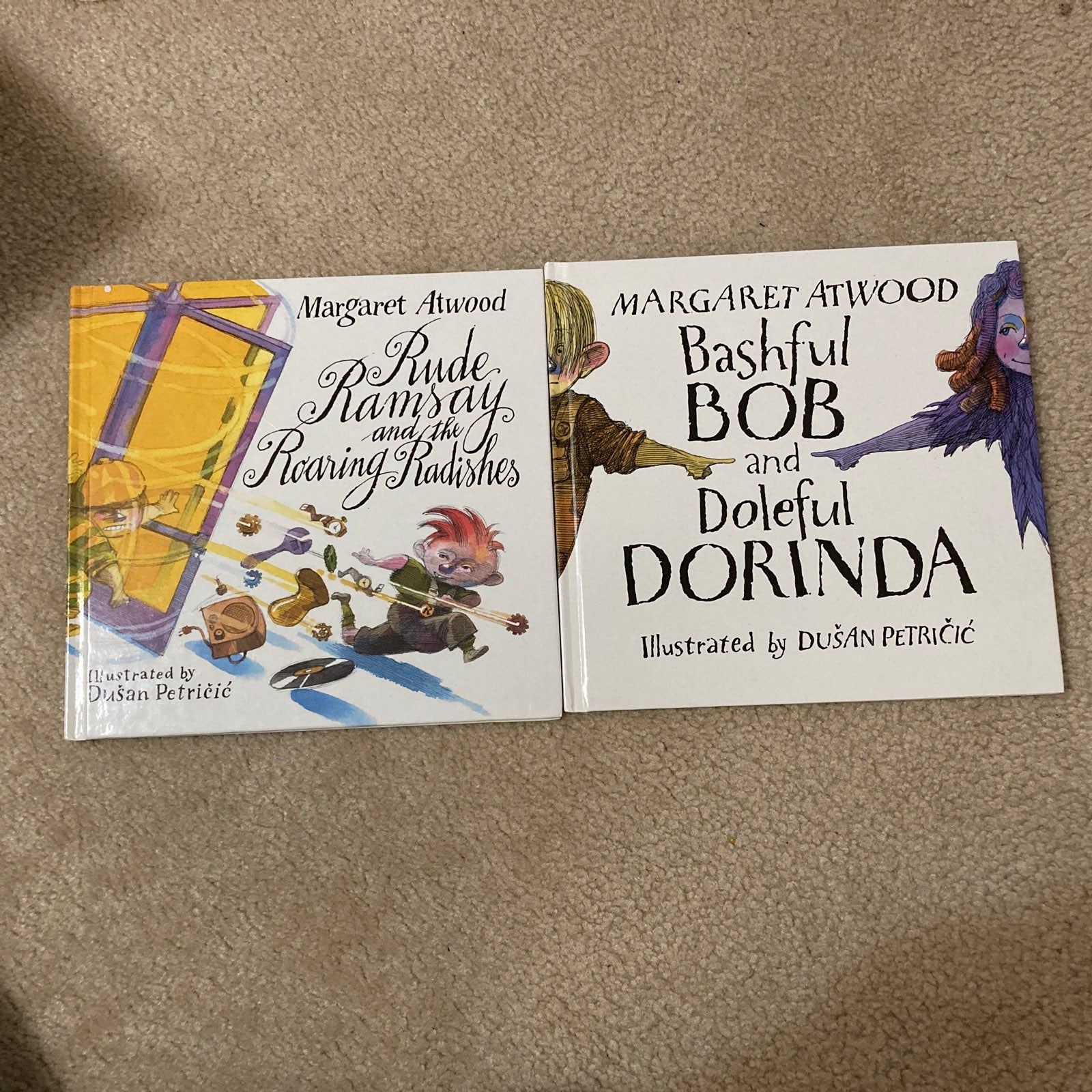 Set of two hardcover Margaret Atwood boo