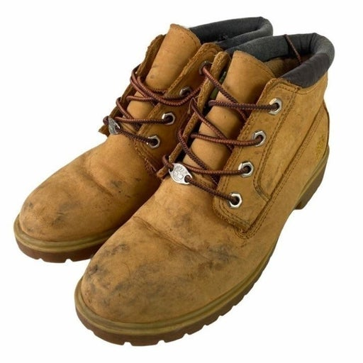 Timberland Leather Boots Shoes Boys 7