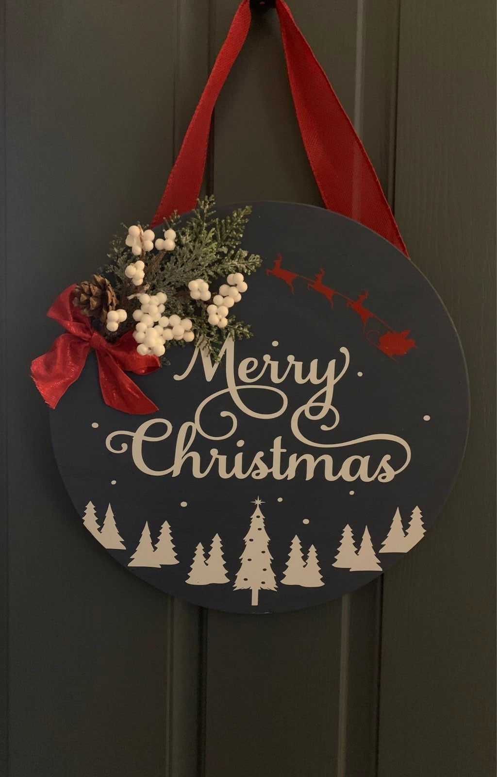 Christmas Door Signs 8+designs Scroll to