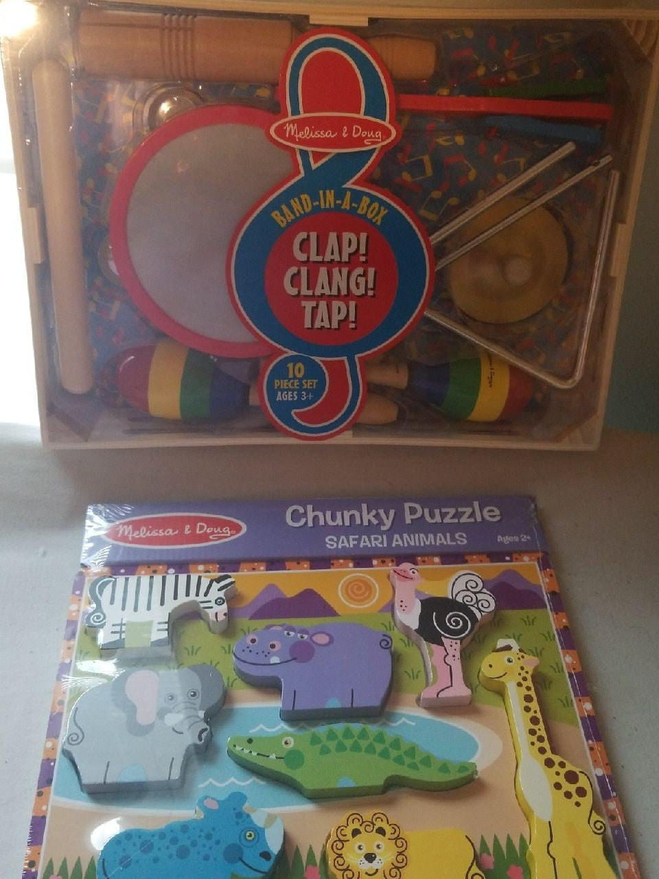 Melissa and Doug Puzzle & Band in a Box