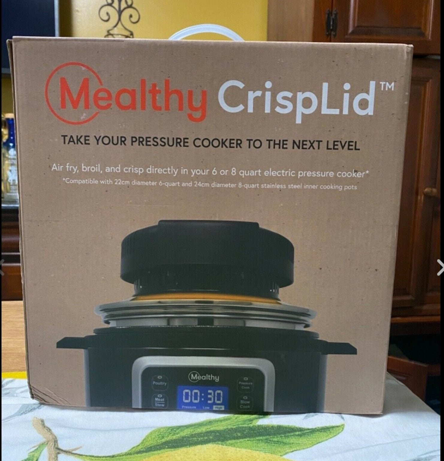 New inBox Mealthy Crisplid