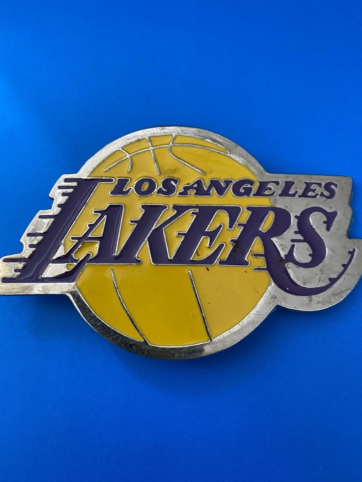 Lakers belt buckle
