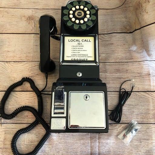 Crosley 1950 Vintage Wall Mount Phone