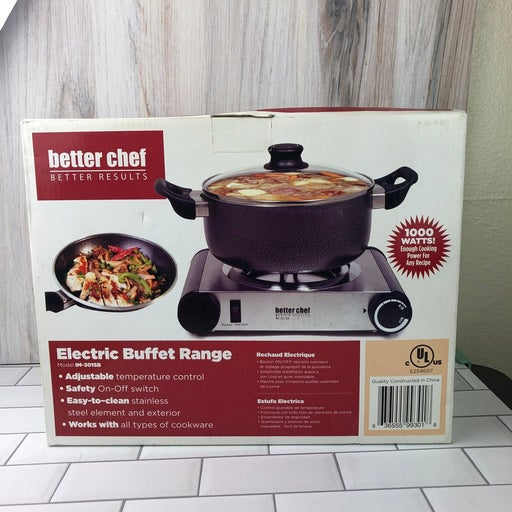 Better Chef IM-301SB Stainless Steel Sin