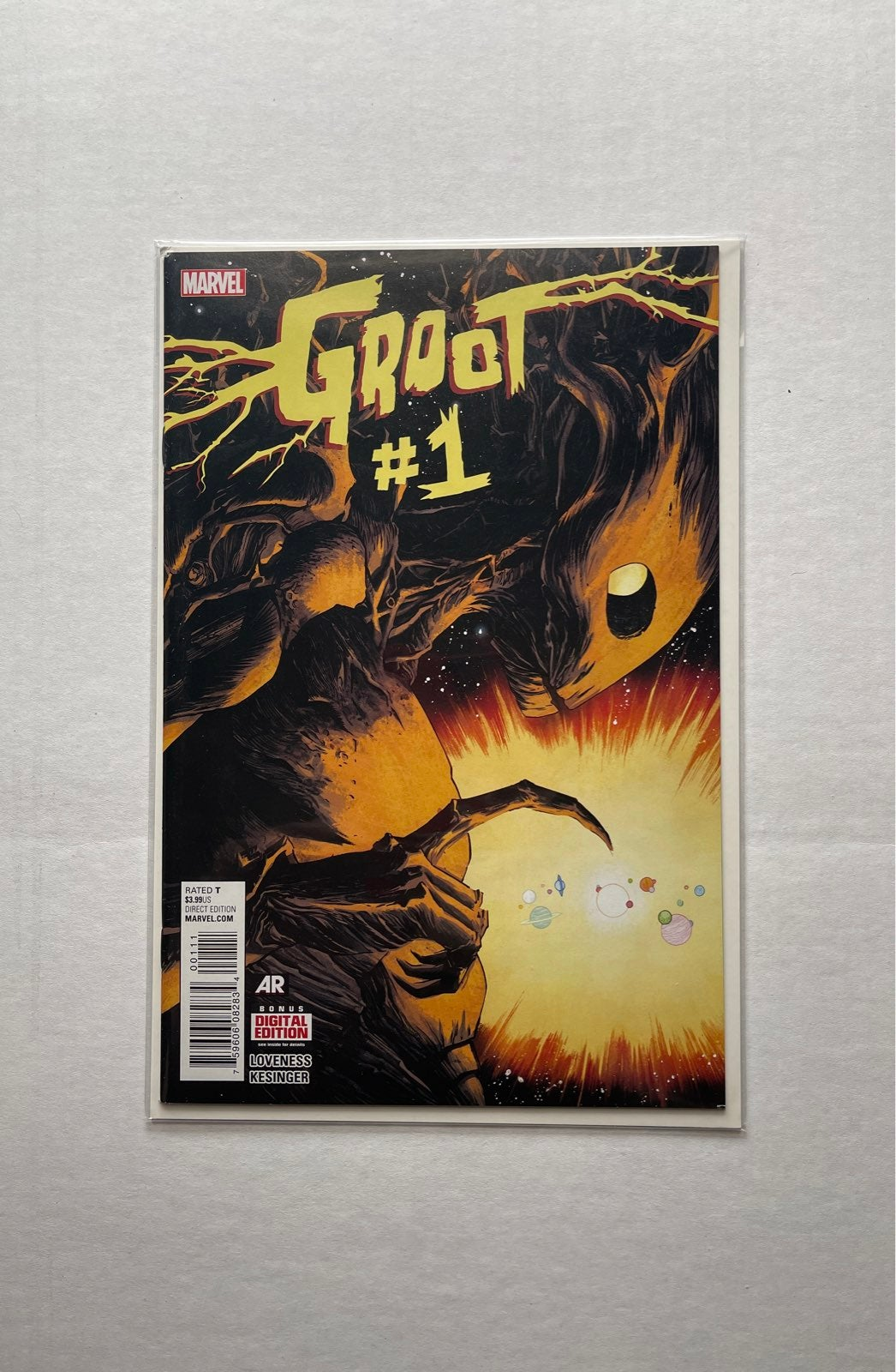 GROOT #1 Comic Book Marvel excelent cond