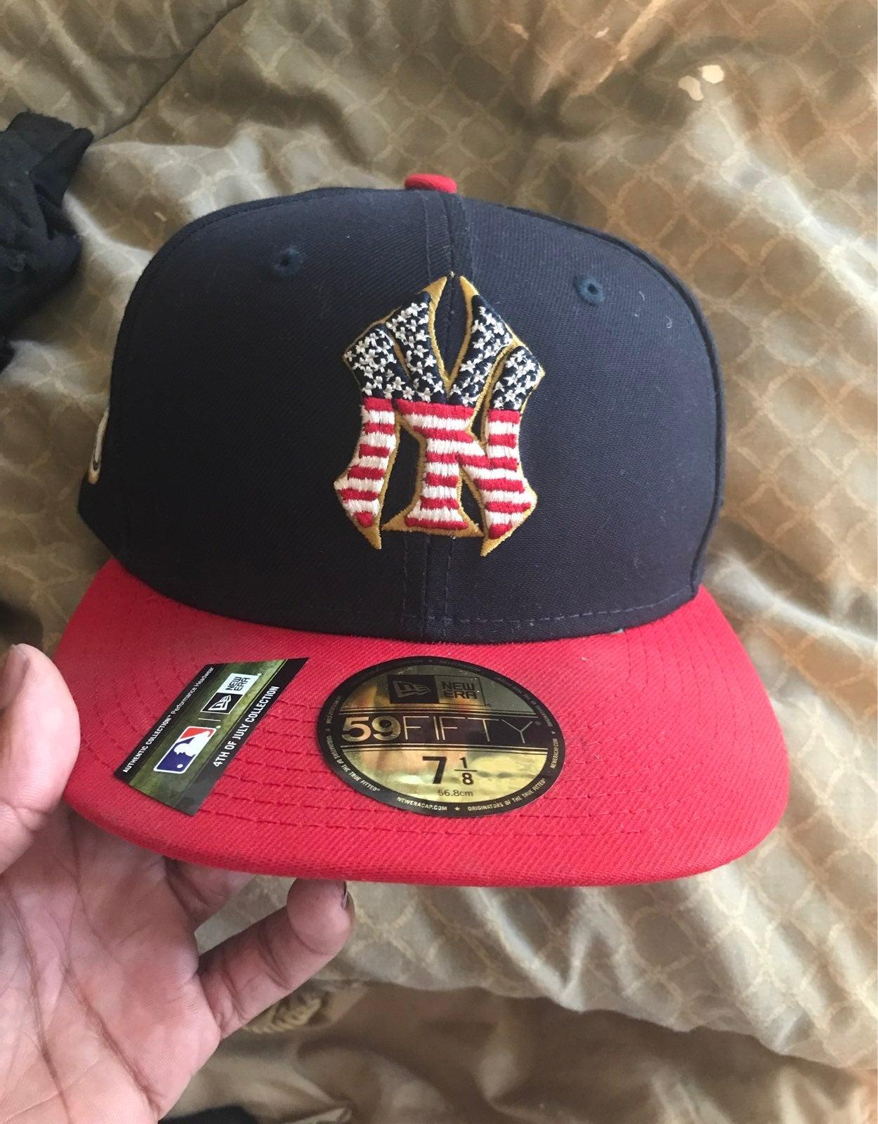 New York Yankee hat