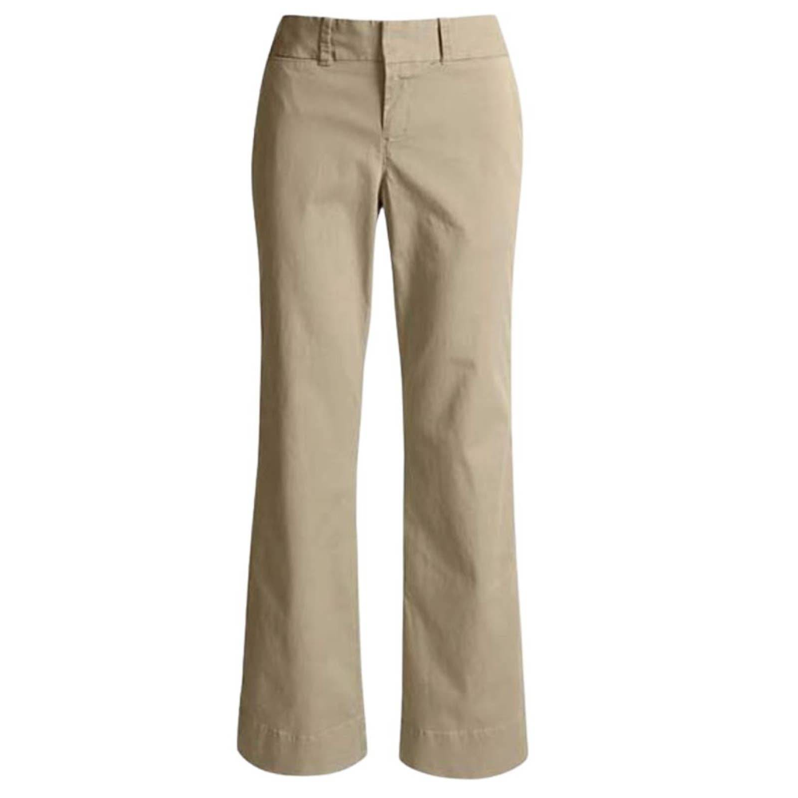 Dockers Plain Boot Cut Chino Pants 8