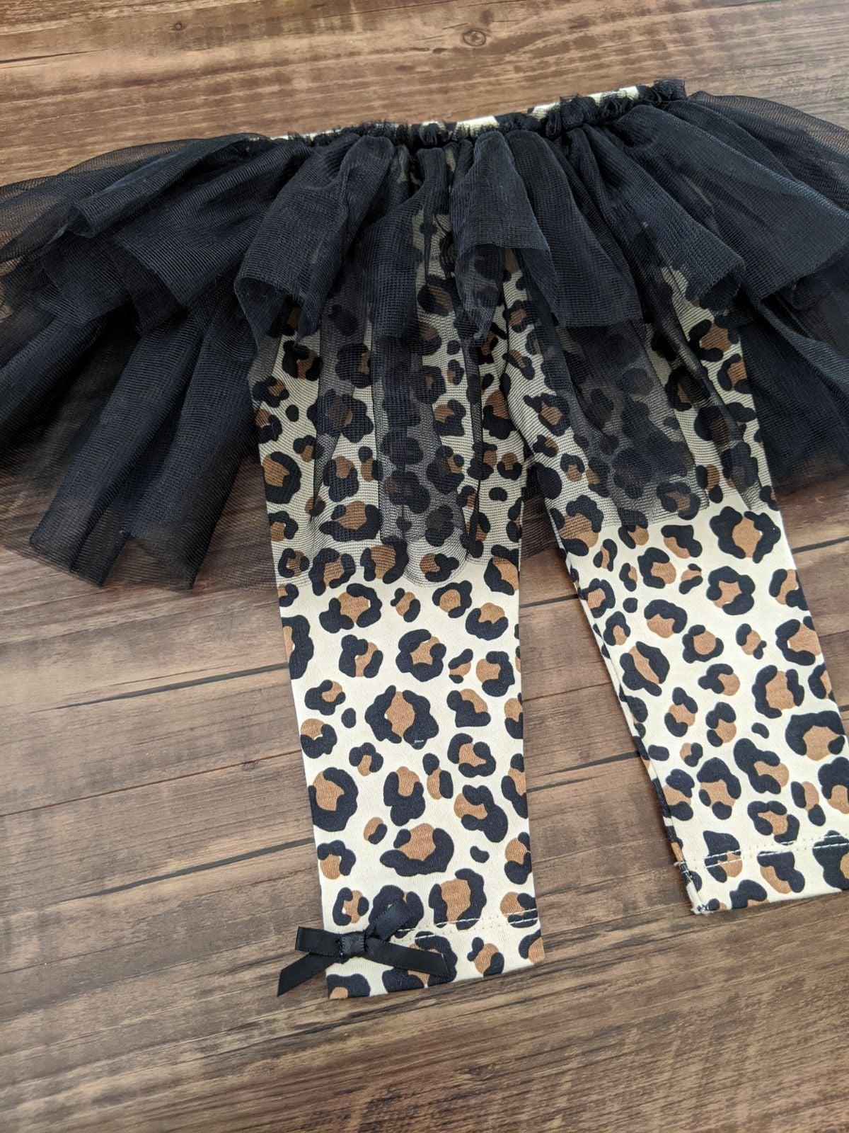 Babyrageous 3-Piece Leopard Tutu Set