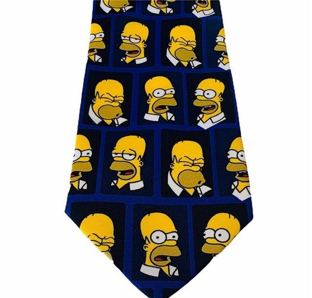 Homer Simpson tie DOAH necktie fox beer