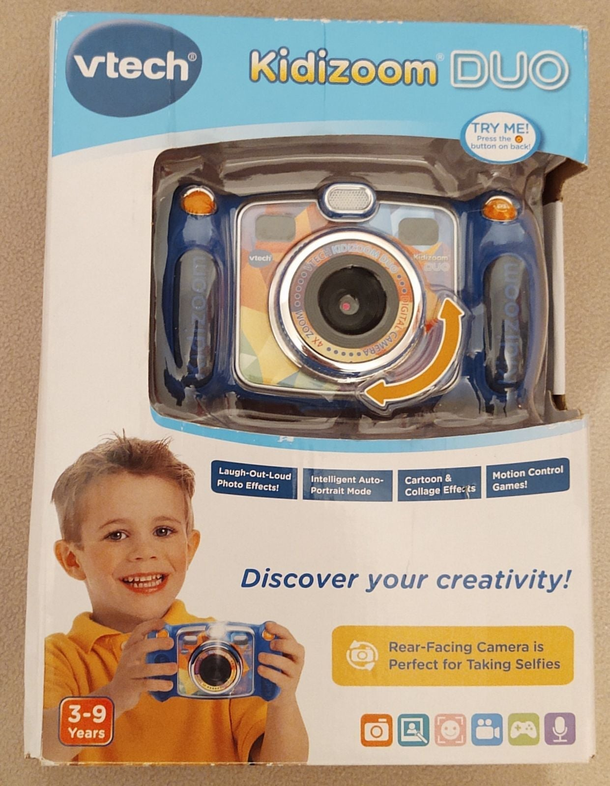 NEW VTech Kidizoom Duo Selfie Camera