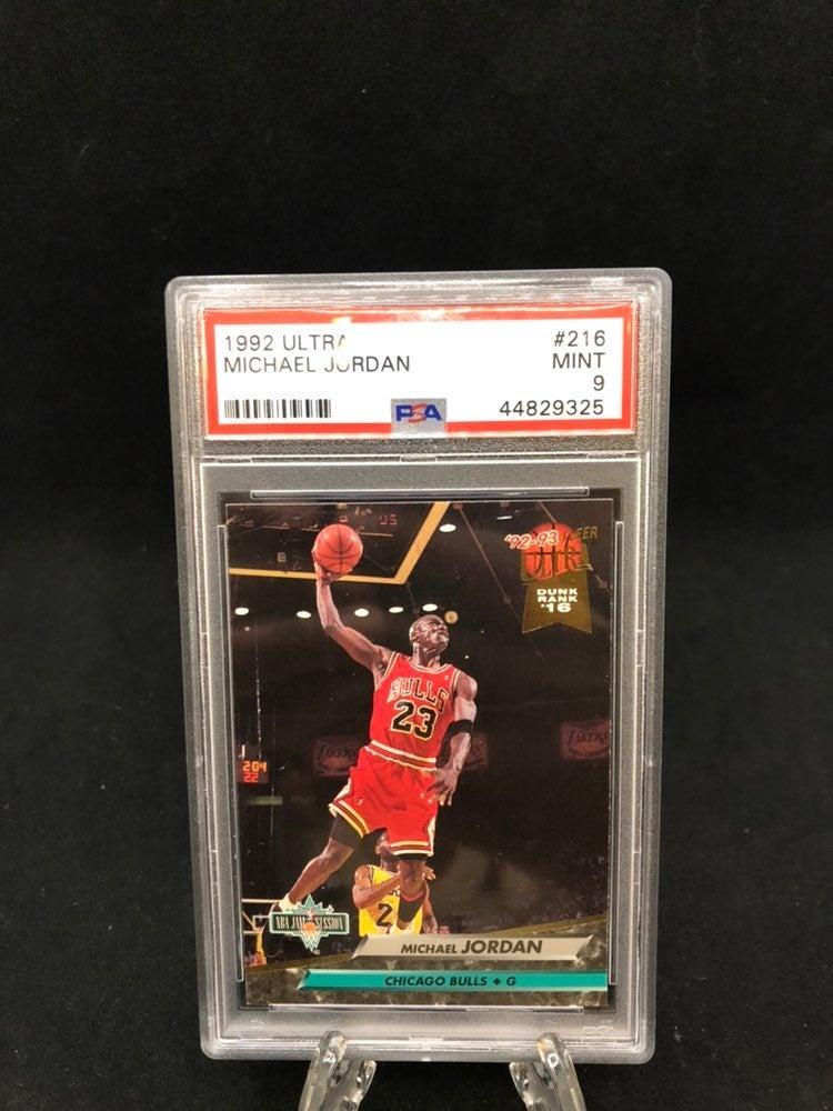 Michael Jordan 1992 Ultra PSA 9!!