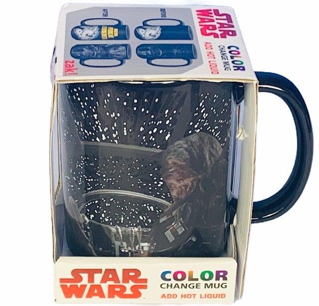 Star Wars mug color change Solo Falcon