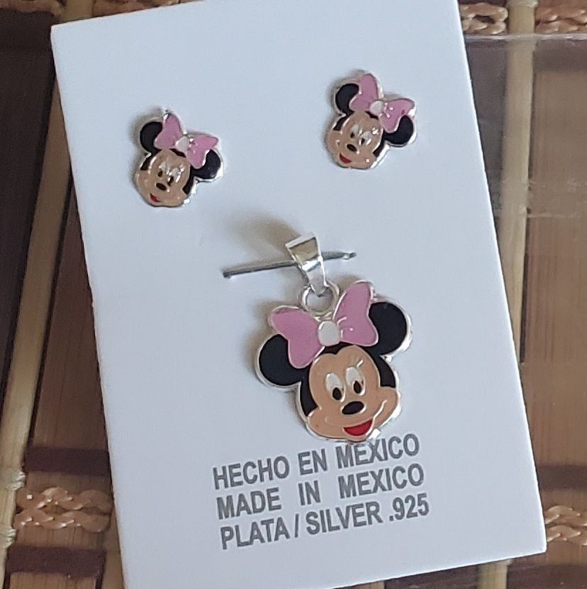 .925 sterling silver minni mouse