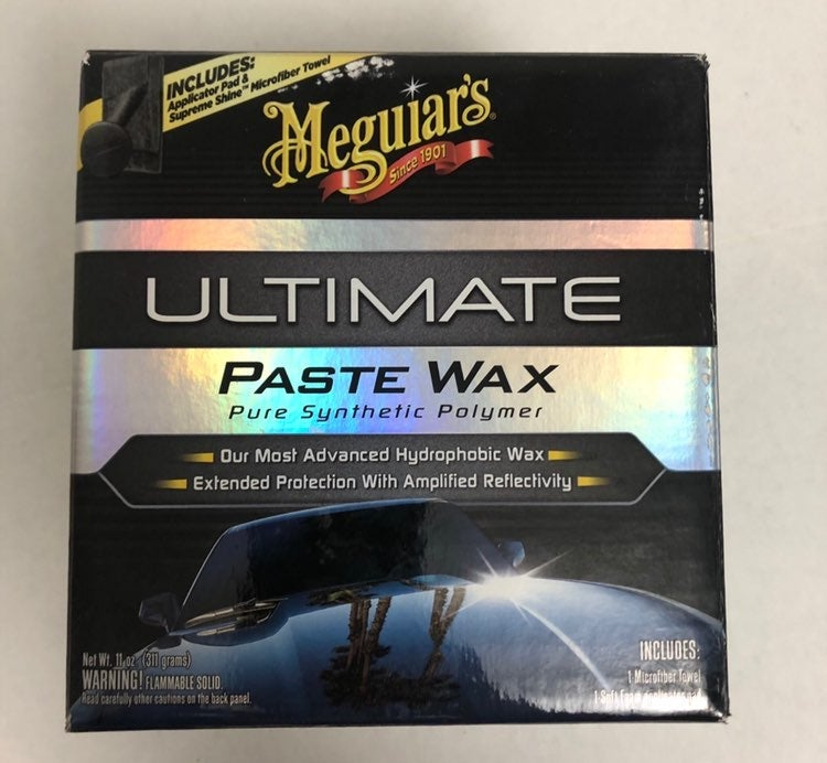 Meguiar's #1 Ultimate Paste wax - new