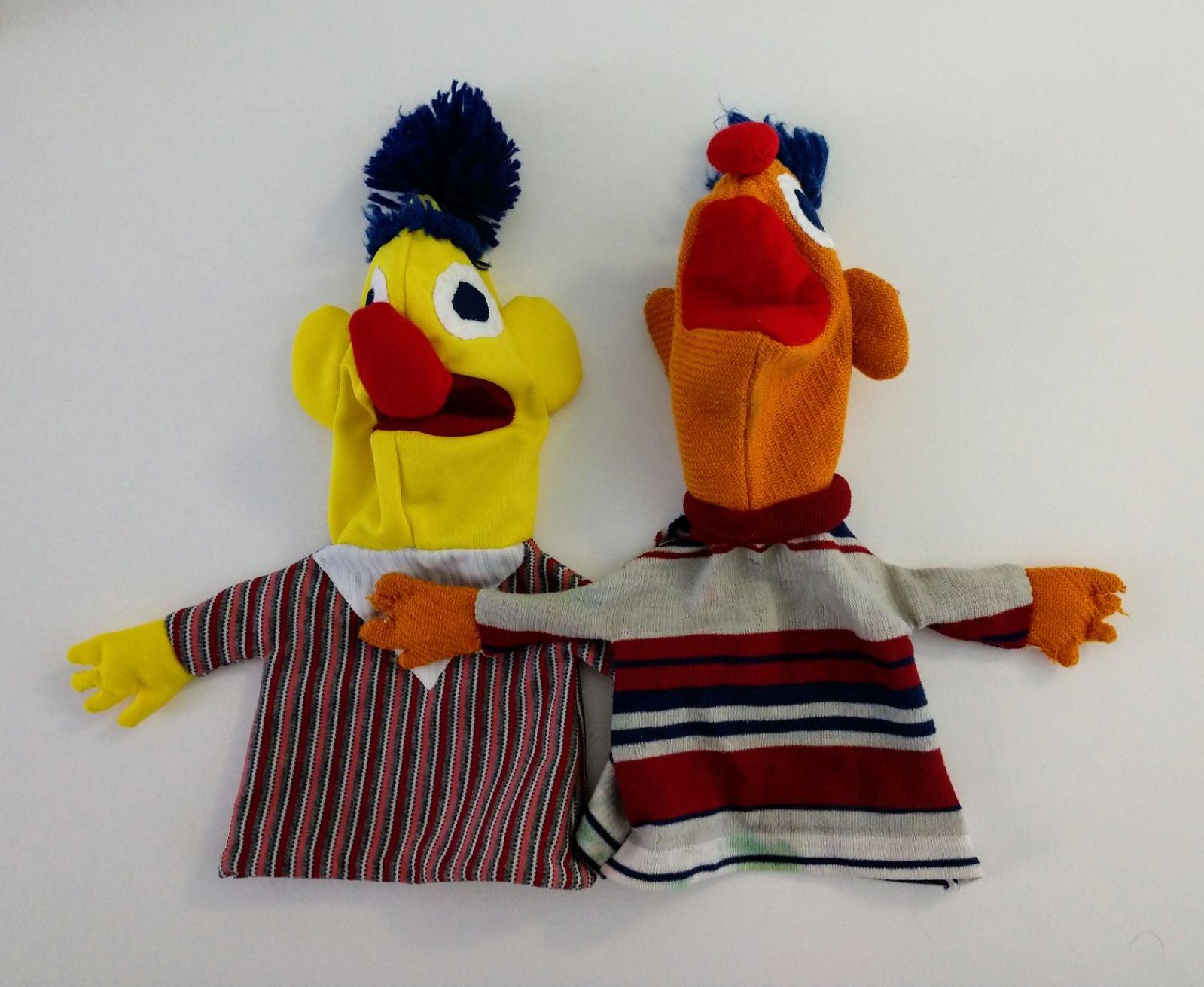 Vintage Handmade Sesame Street Puppets