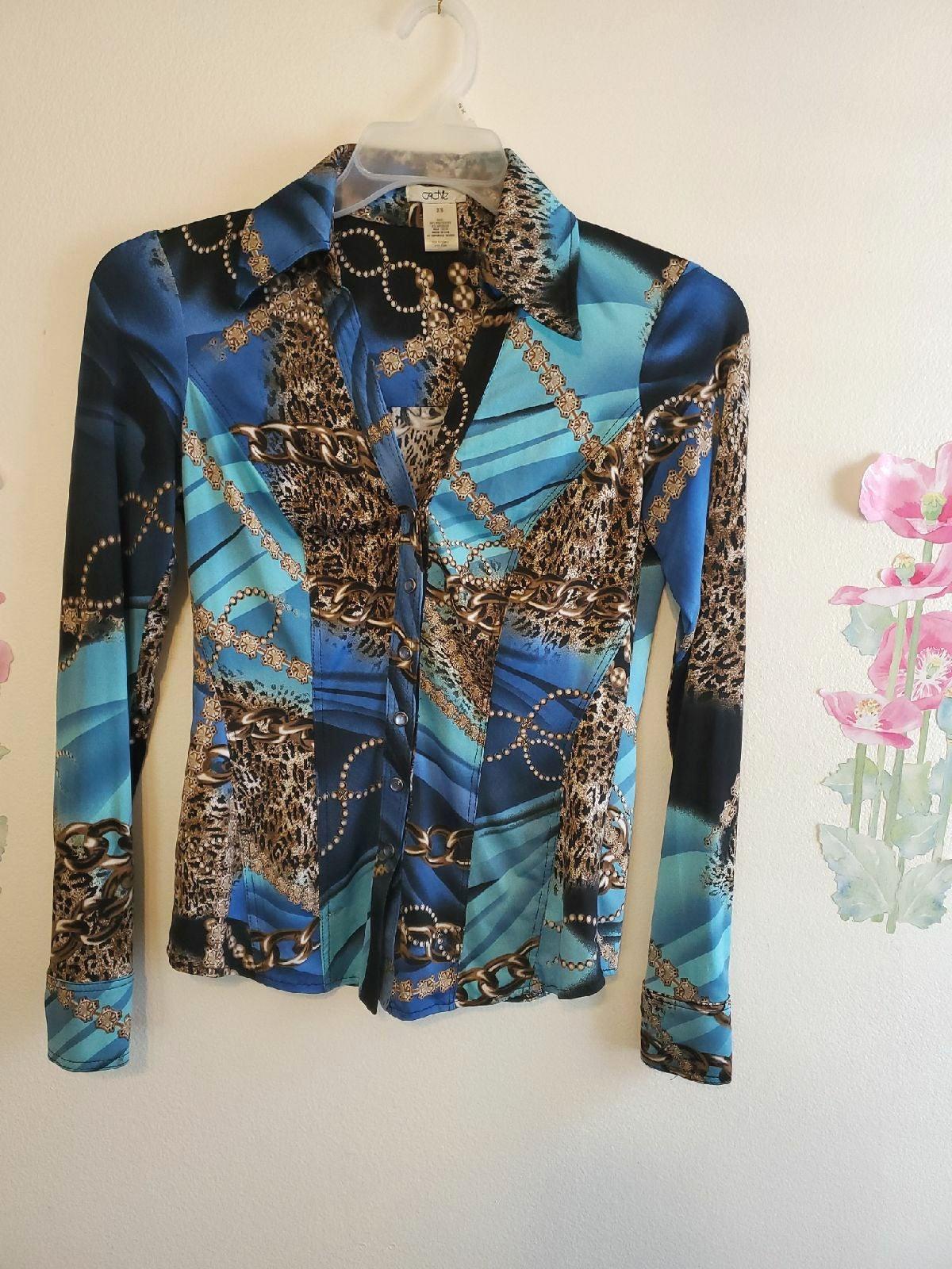 Summer blouse long sleeve/XS.