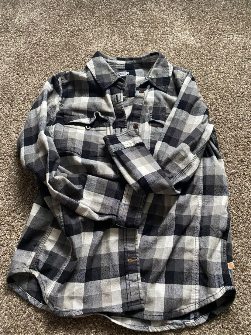 Women's Carhartt Flannel Medium