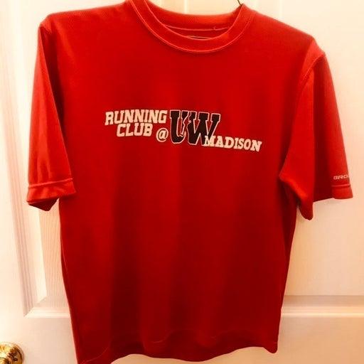 Wisconsin Badgers Running Club shirt