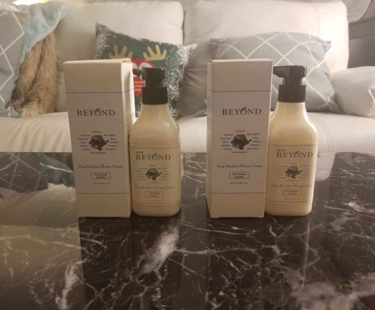 2x Beyond Deep Moisture Shower Cream