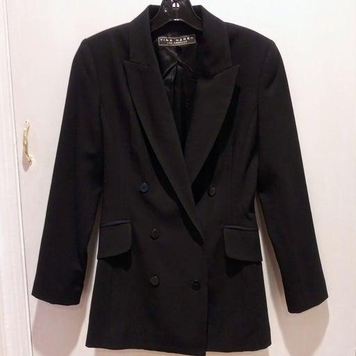 Vintage Tina Hagen Black Blazer Jacket