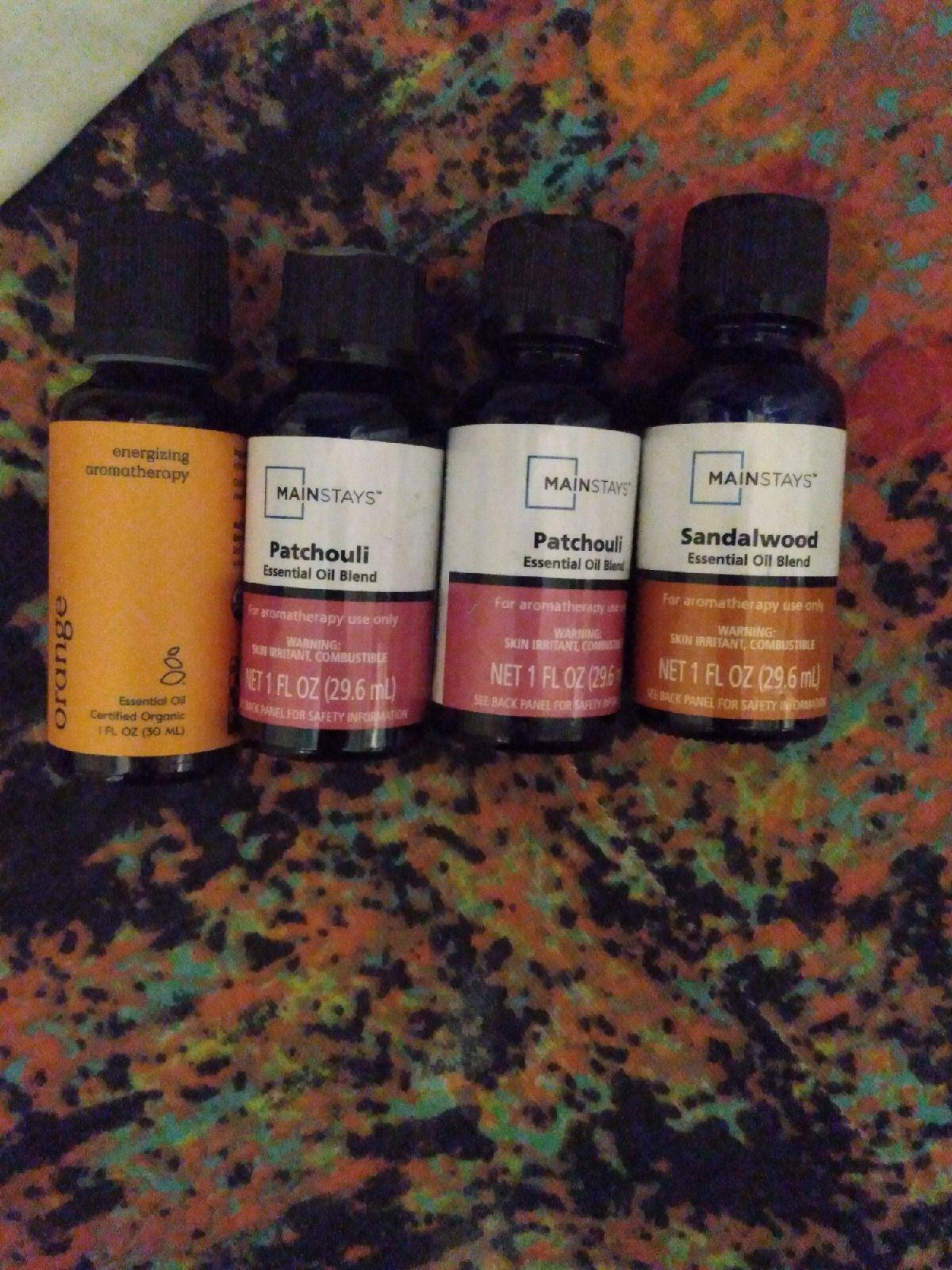 Essential Oil Blend Bundle ×4