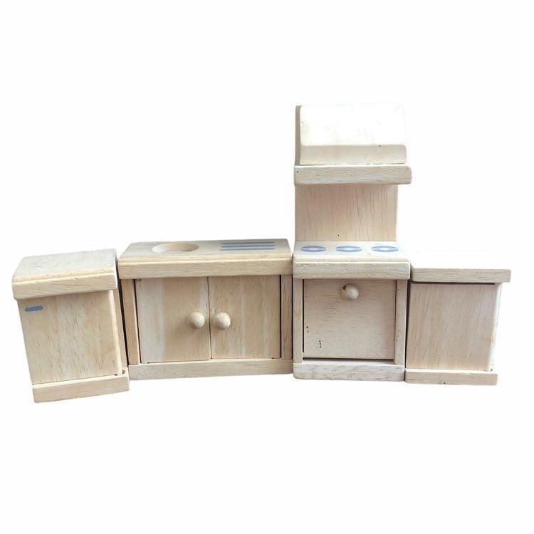 Plan Toys Wooden Dollhouse Kitchen