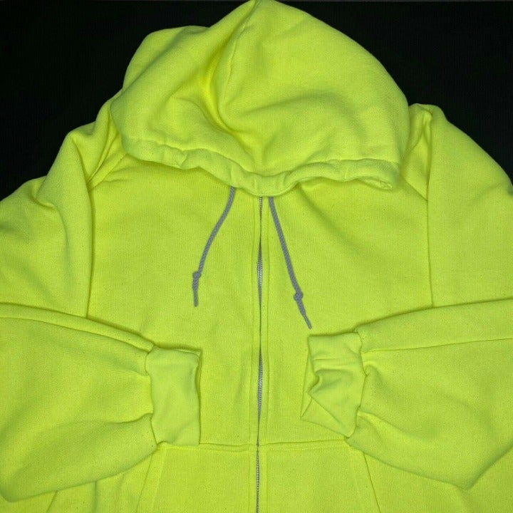 Camber 4XL Safety Yellow Hoodie Chill-Bu