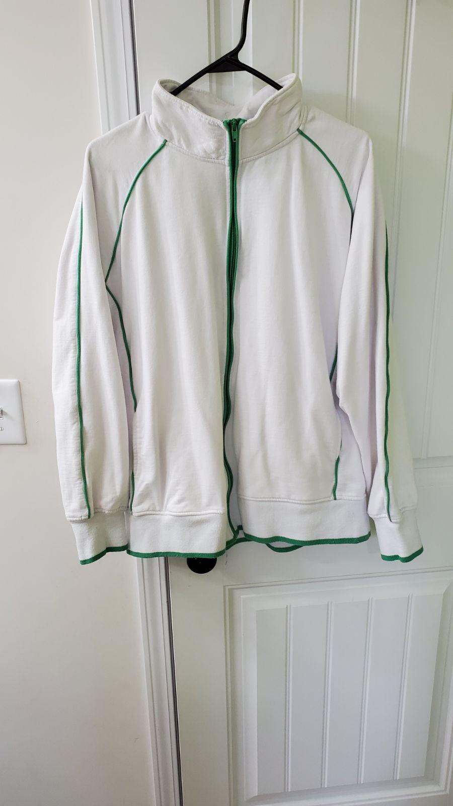Buckle Zip up Jacket XL