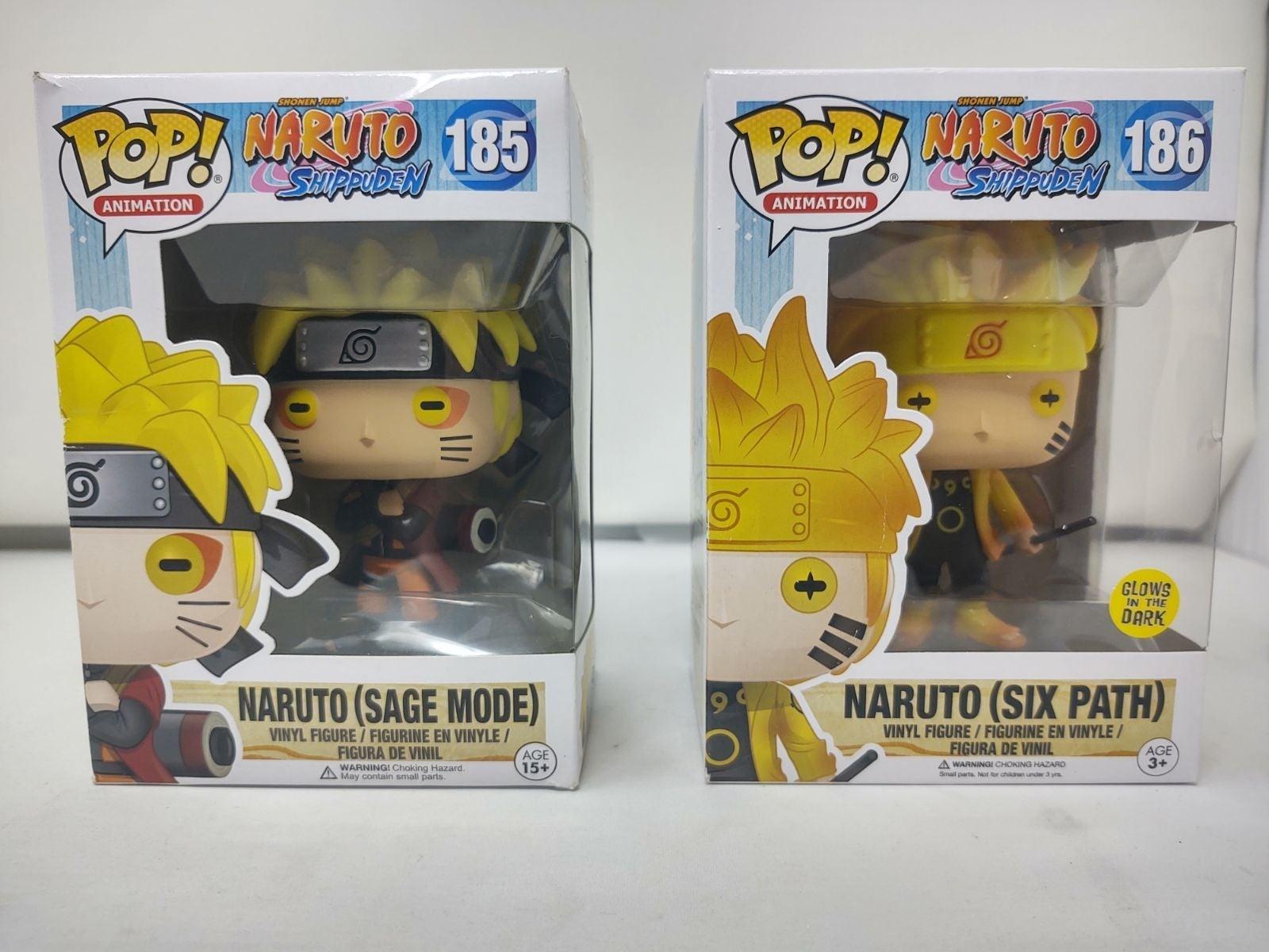 Funko Pop Naruto Sage Mode And Six Path