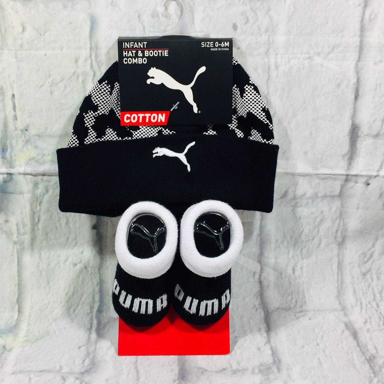 Puma Infant Hat & Bootie Set