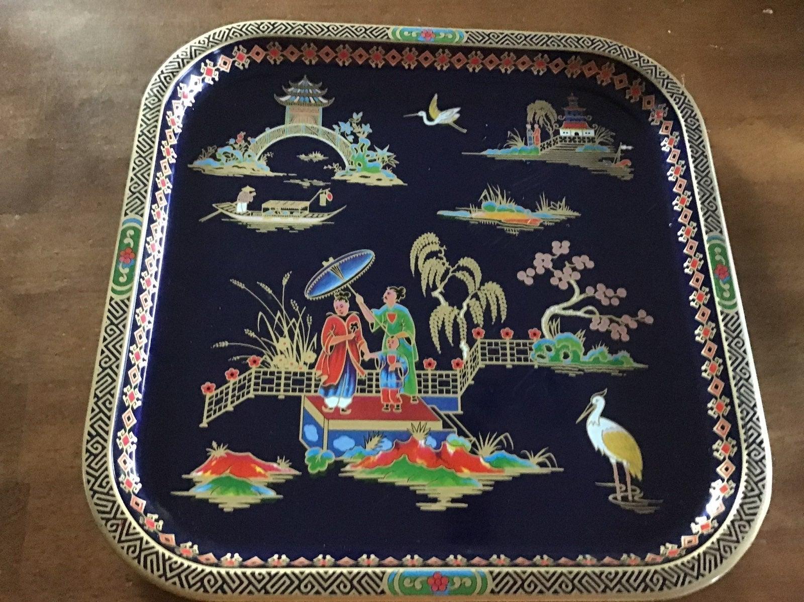 Oriental Tin Tray