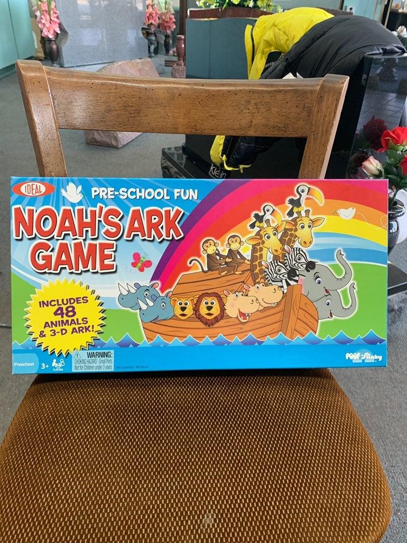 Ideal Noah's Ark Pre-School Board Game