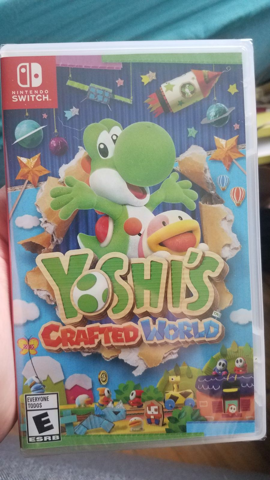 Yoshi's Crafted World on Nintendo Switch
