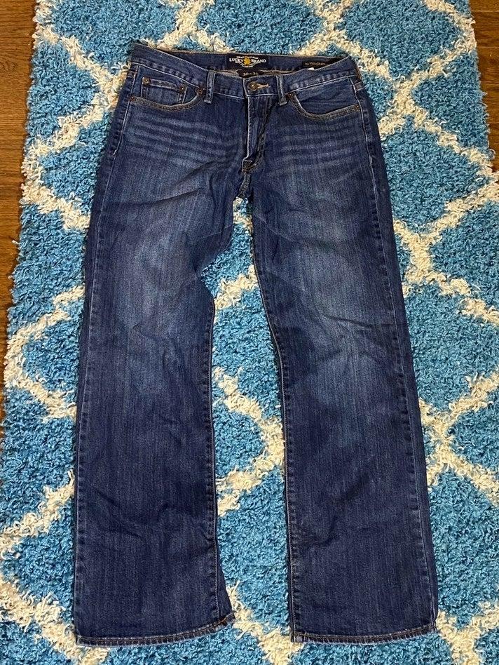 Men's  Lucky Brand vintage straight jean
