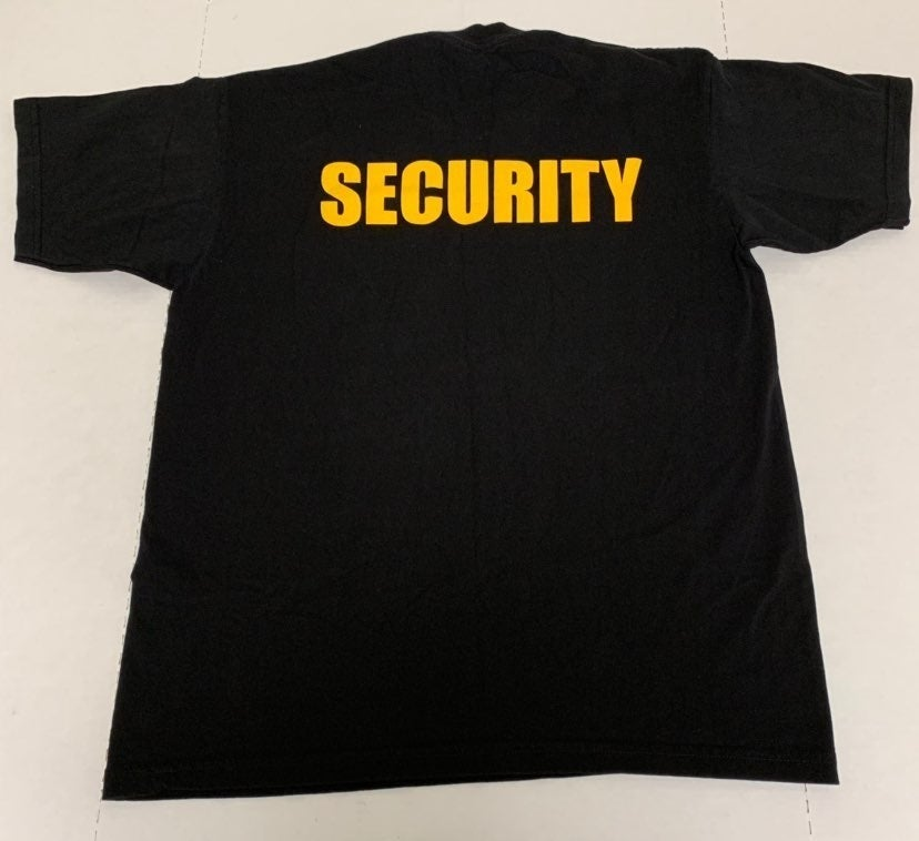 Security Bouncer Tee Heavy Duty XL