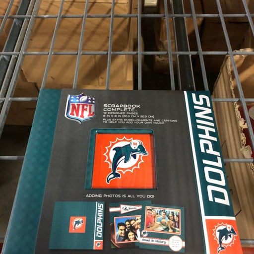 Miami Dolphins Mini Scrapbook