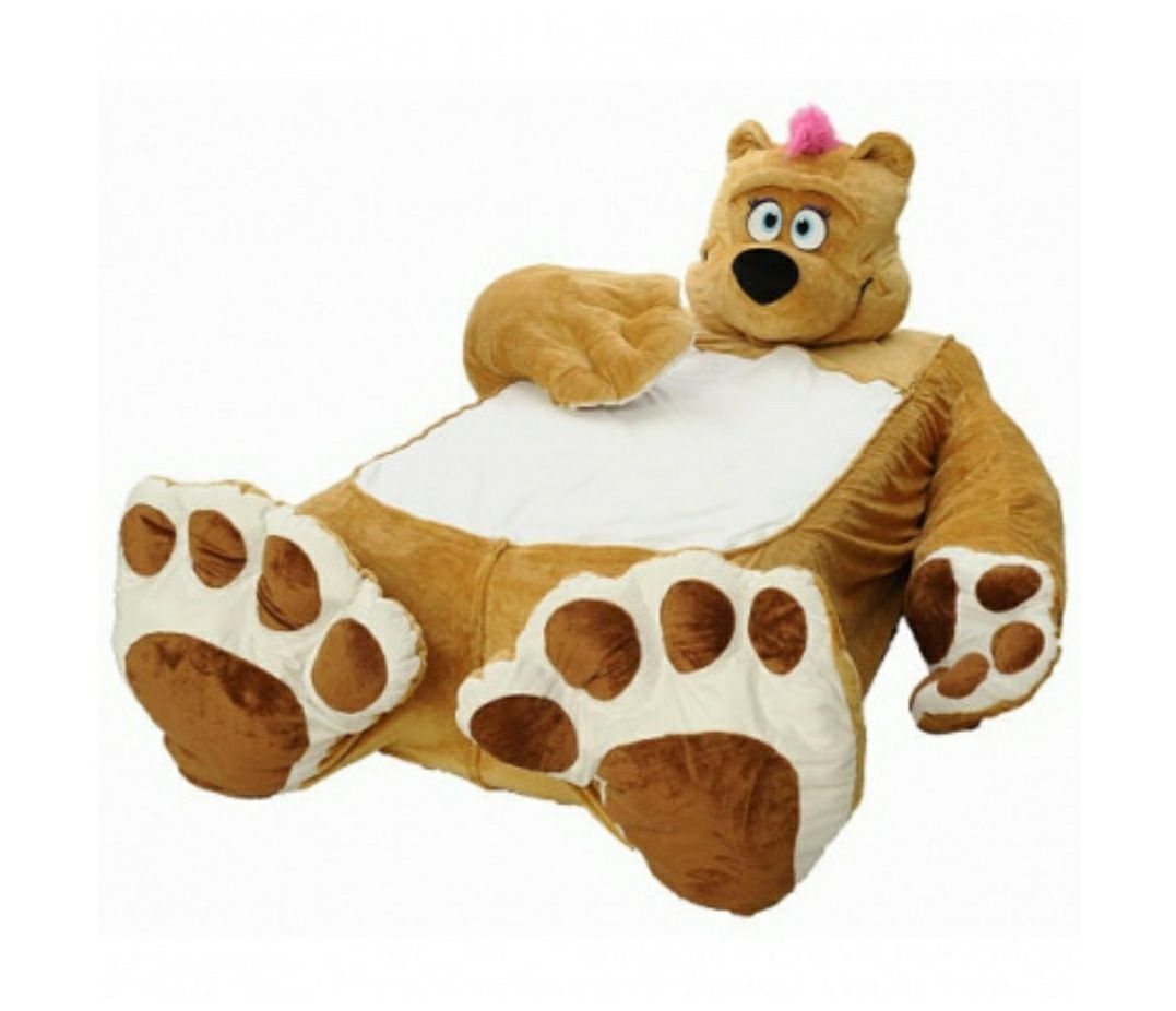 Twin Bed Brown Bear Cover for Kids