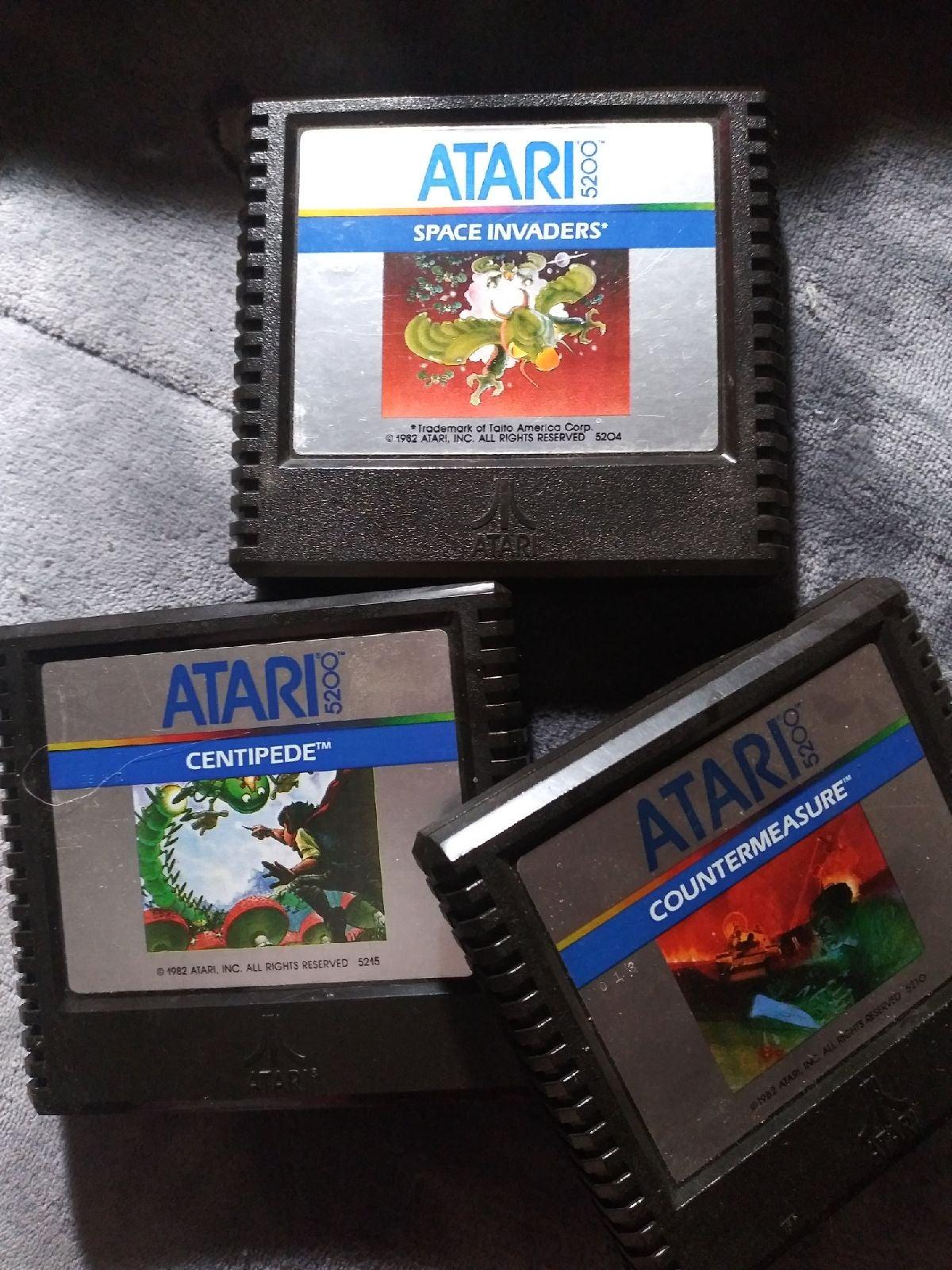 3 Atari 5200 Games