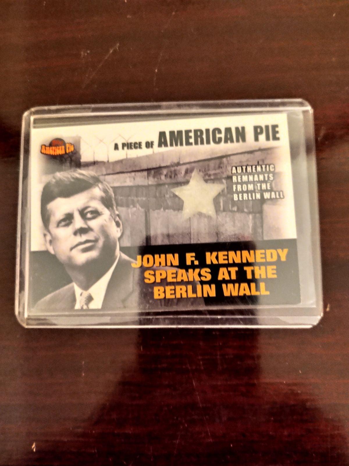 John F Kennedy 2001 American Pie Berlin